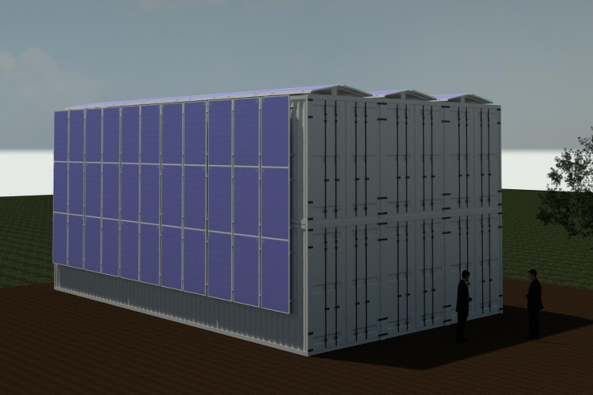 Boxfarm-Containersystem