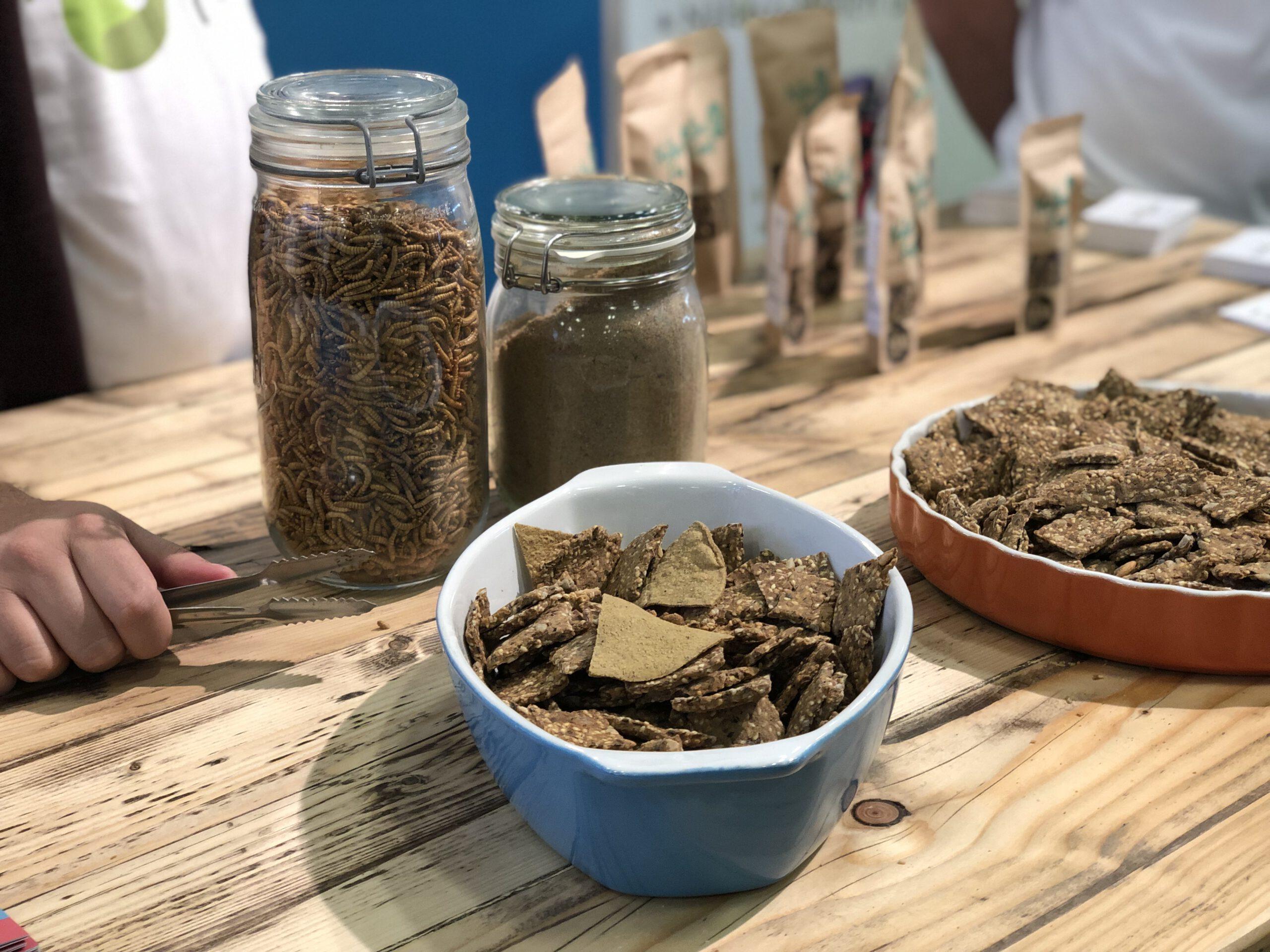 """Insekten-Snack-Produkte von """"Native Foods"""""""
