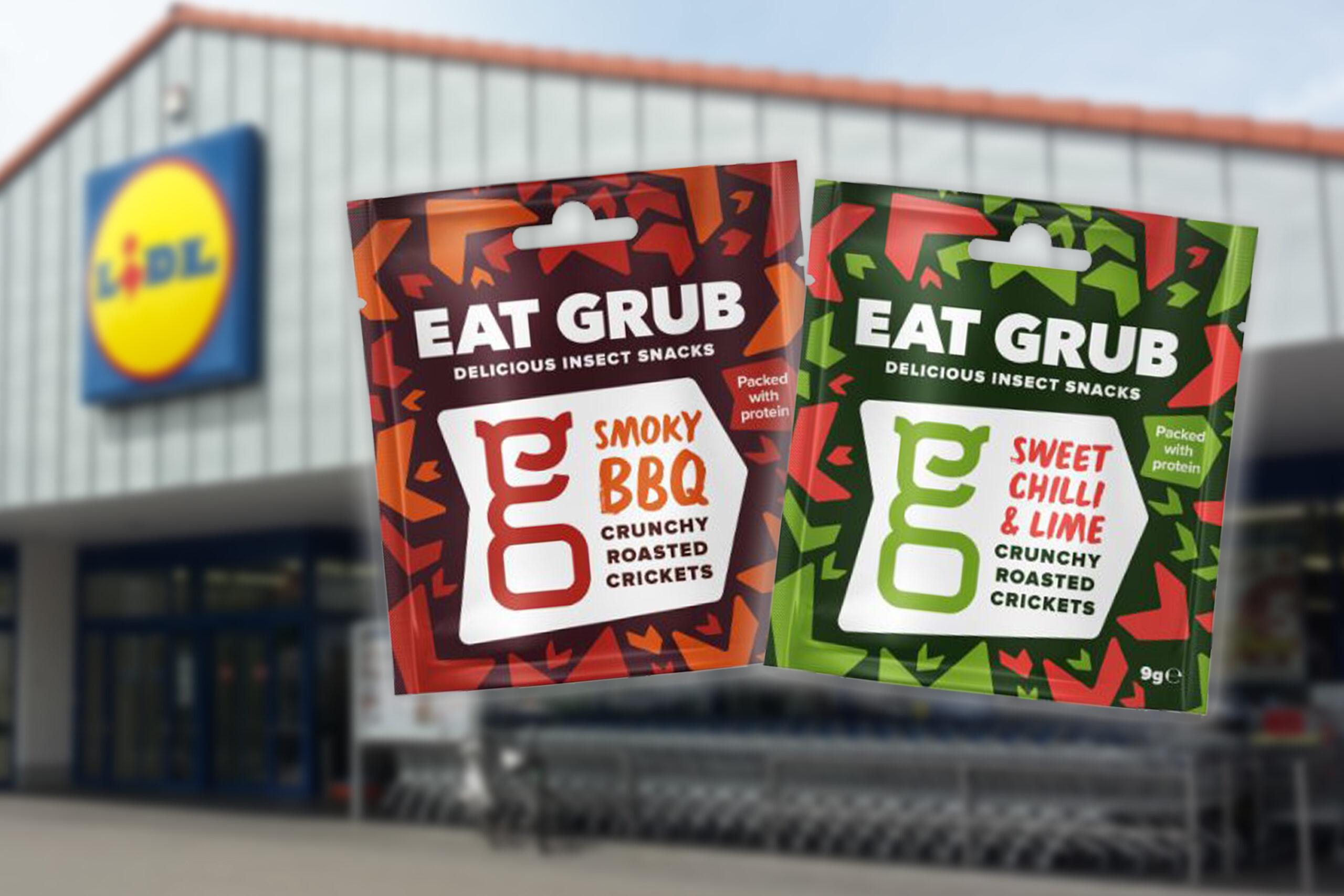 Insektensnacks von Eat Grub bei Lidl