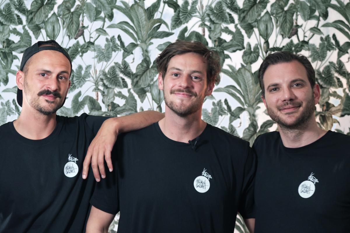 Team von Wicked Cricked: Josef Hirte, Josef Köhl und Mathias Rasch