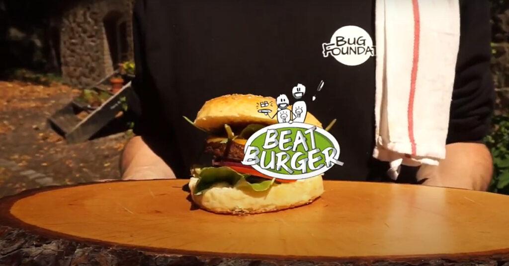 "Insektenburger ""Bug Burger"" der Bugfoundation"